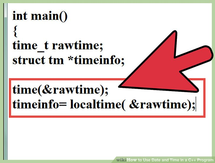 c++日期时间