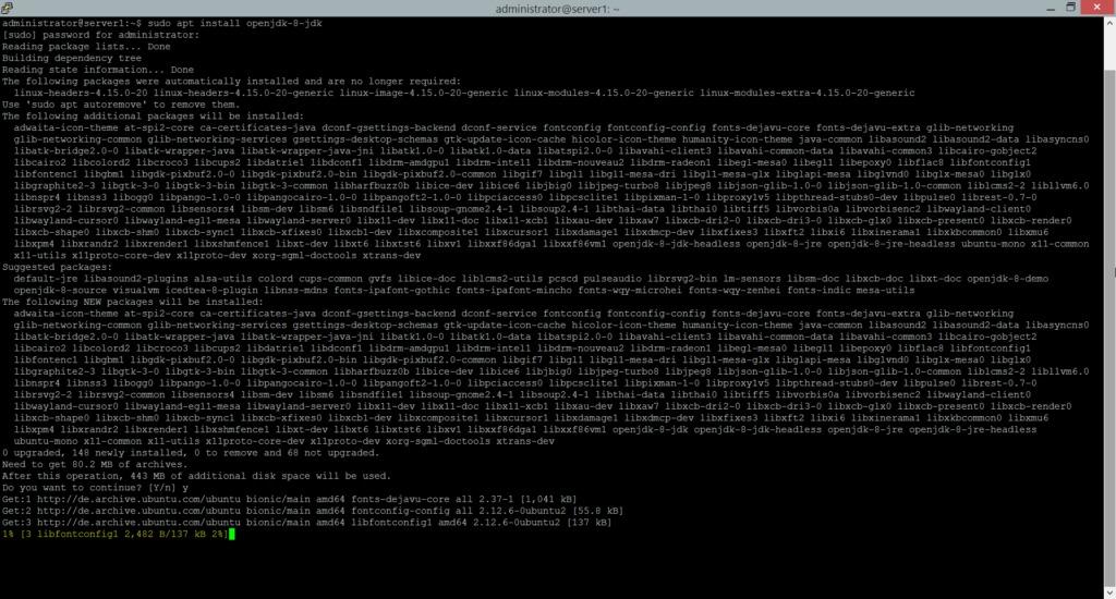 Install OpenJDK on Ubuntu Linux