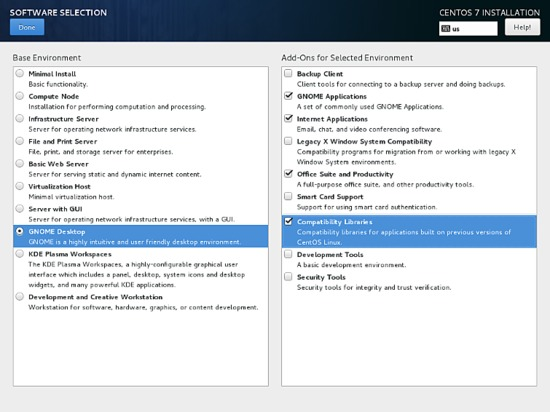 Select Desktop - KDE or GNOME